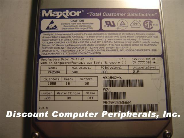 Maxtor 7425AV