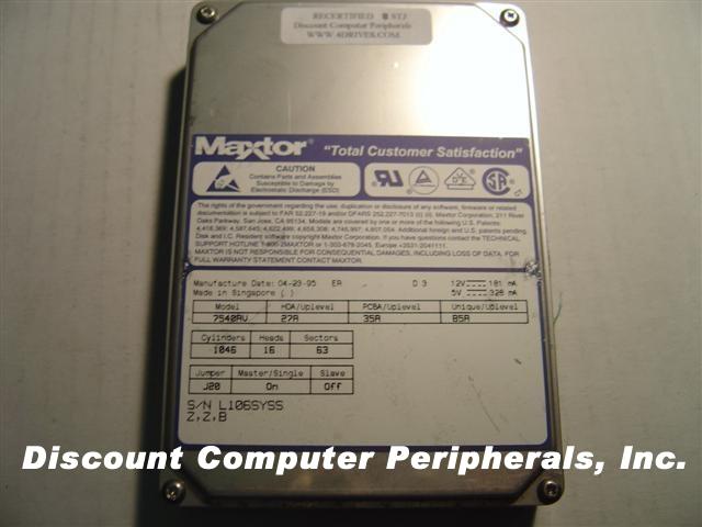 Maxtor 7540AV