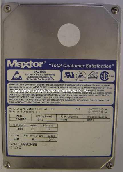 Maxtor 7546AT