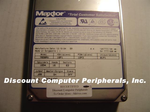 Maxtor 7850AV