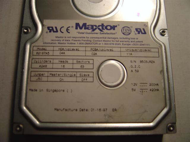 Maxtor 82187A5
