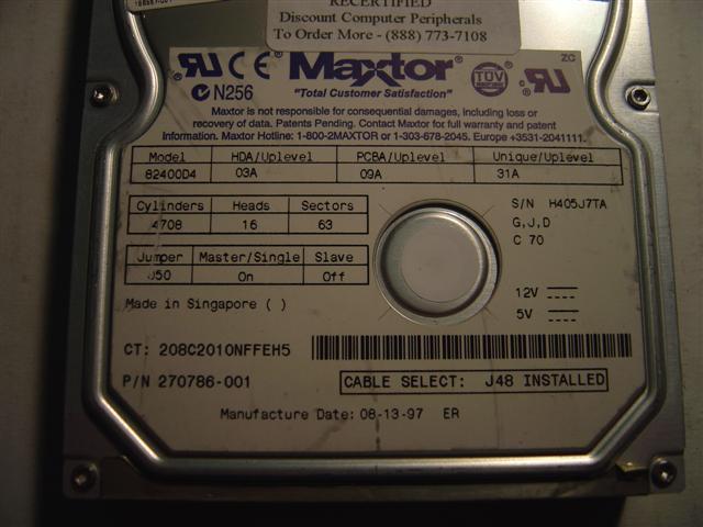 Maxtor 82400D4