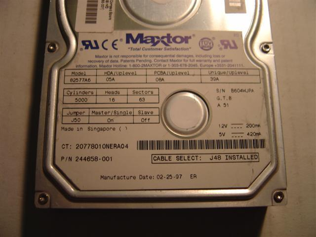 Maxtor 82577A6