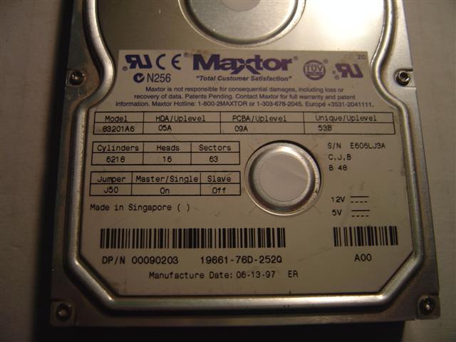 Maxtor 83201A6