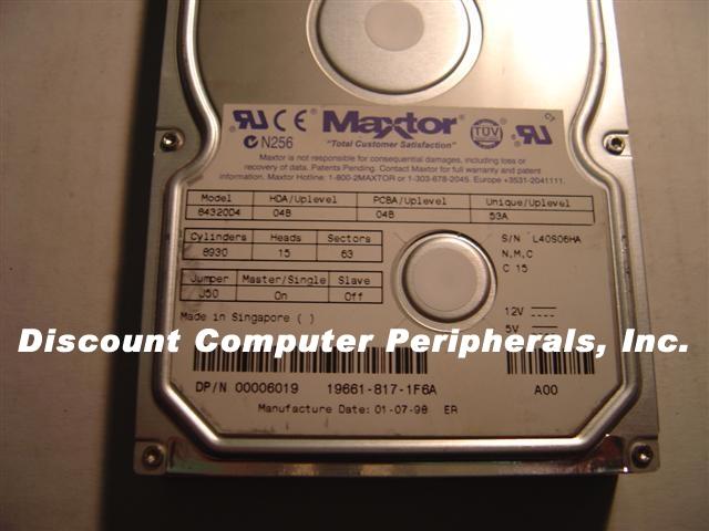 Maxtor 84320D4