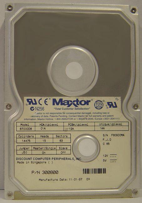 Maxtor 87000D8