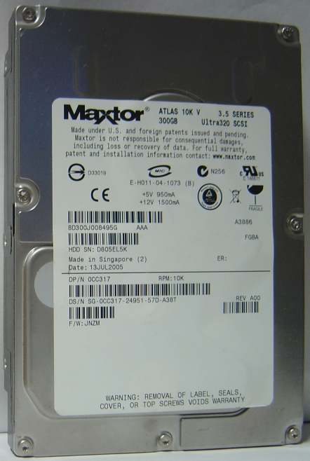 Maxtor 8D300J0