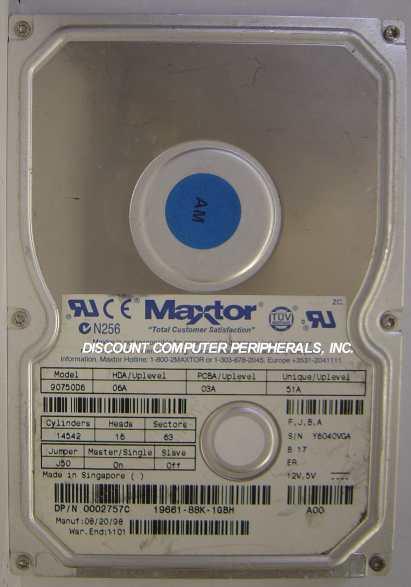 Maxtor 90750D6