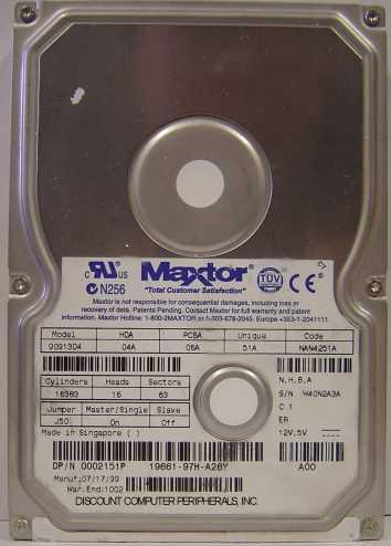 Maxtor 90913D4