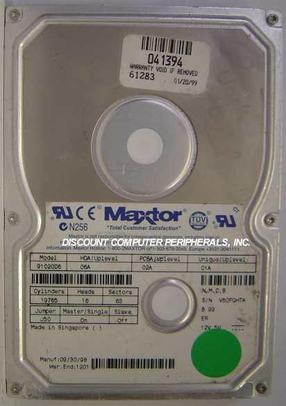 Maxtor 91020D6