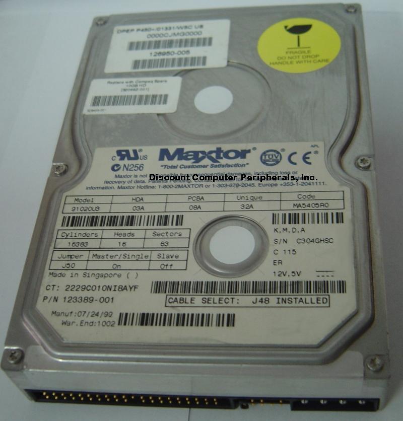 Maxtor 91020U3
