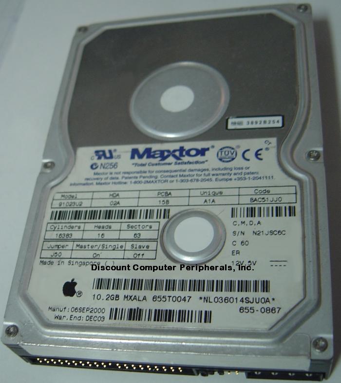 Maxtor 91023U2