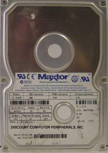 Maxtor 91152D8