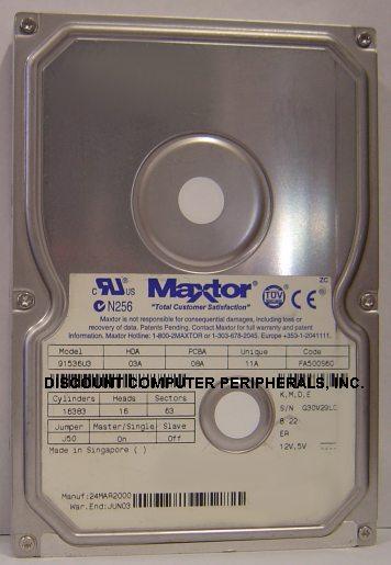 Maxtor 91536U3