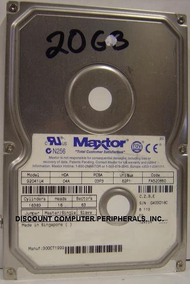 Maxtor 92041U4