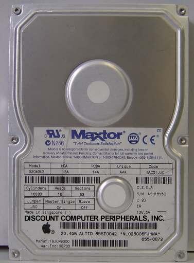 Maxtor 92049U3