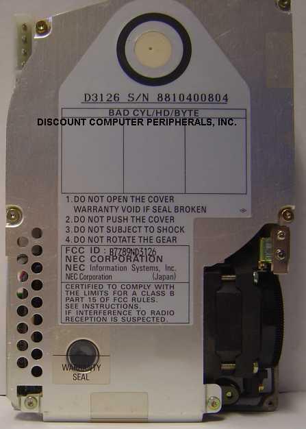 Nec D3126