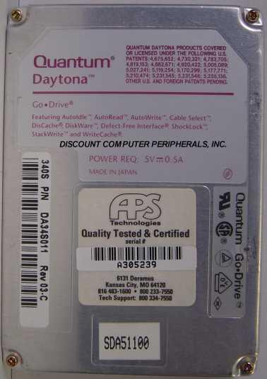 Quantum DAY341S