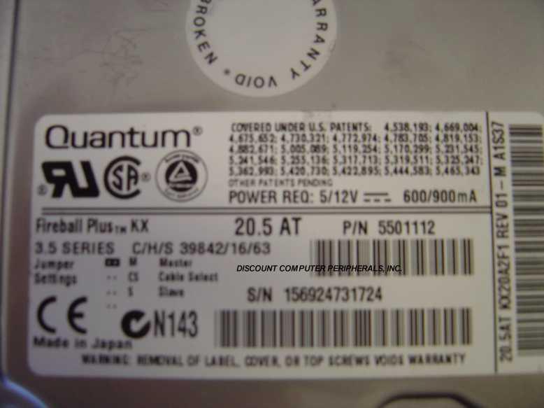 Quantum KX20