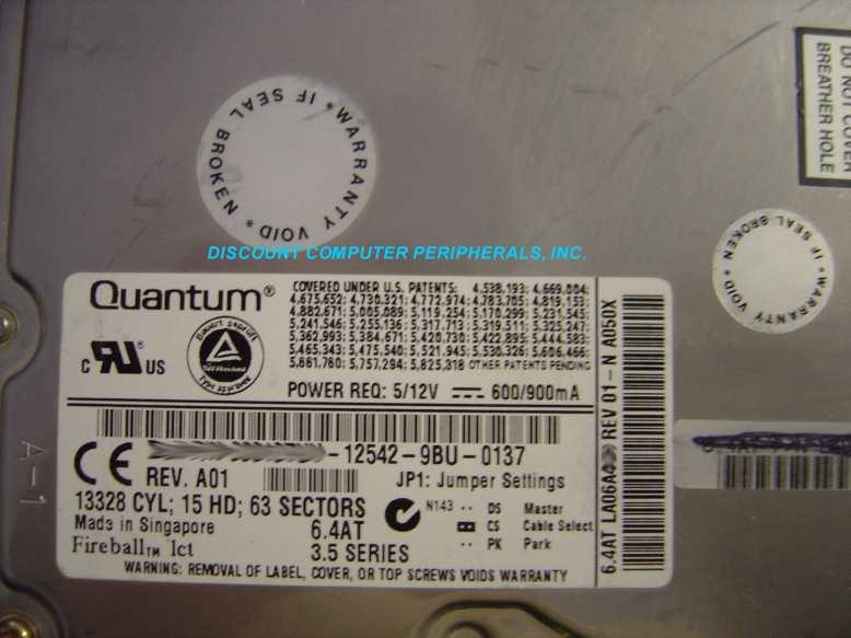 Quantum LCT08-6400