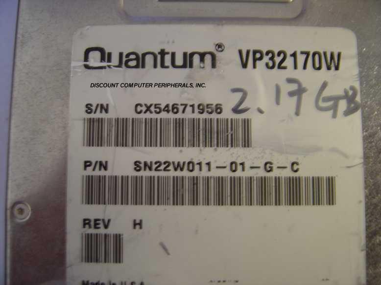 Quantum VP32170W