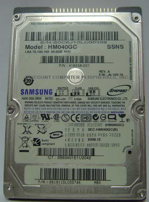 Samsung HM040GC