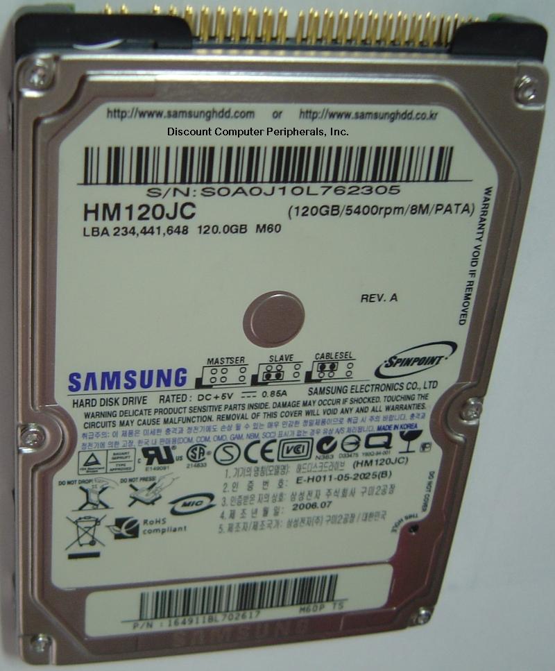 Samsung HM120JC