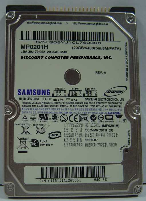 Samsung MP0201H