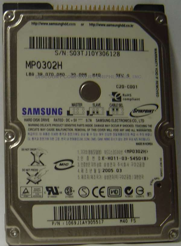 Samsung MP0302H