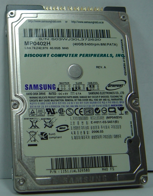 Samsung MP0402H