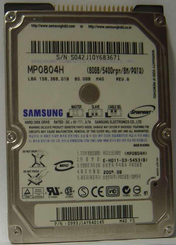 SAMSUNG MP0804H
