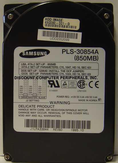 Samsung PLS-30854A