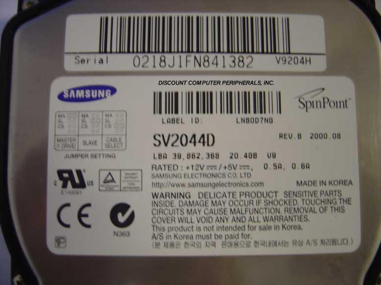 Samsung SV2044D