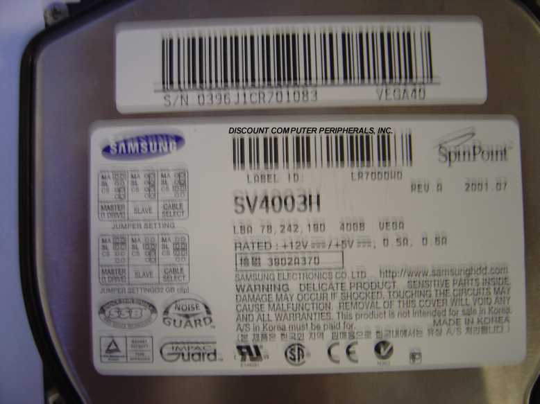 Samsung SV4003H