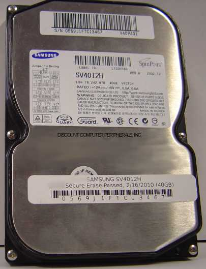Samsung SV4012H