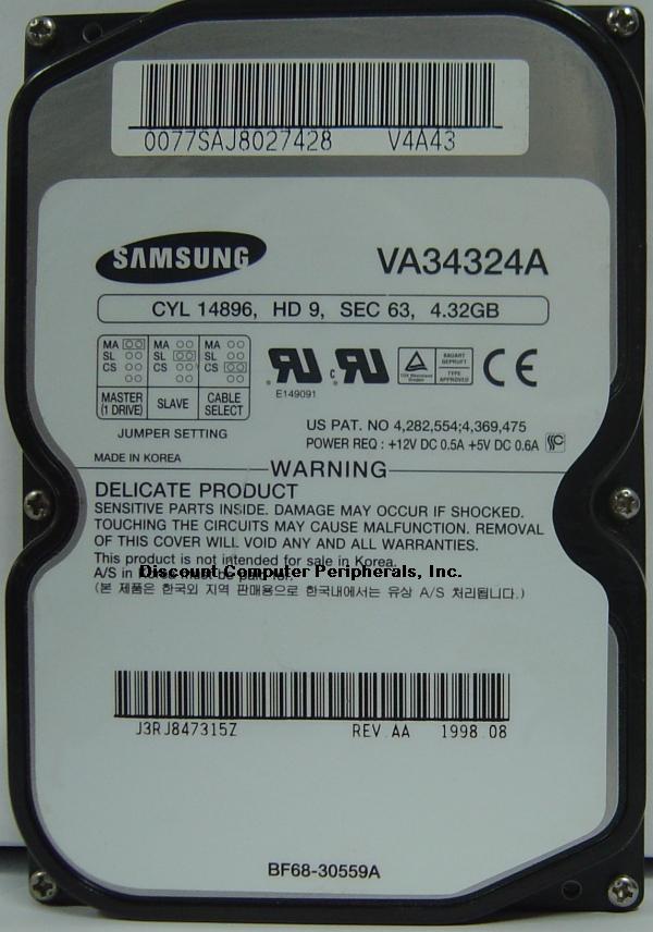 Samsung VA34324A