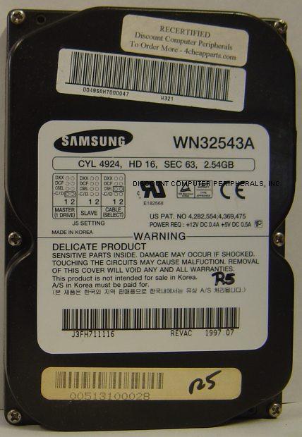 Samsung WN32543A