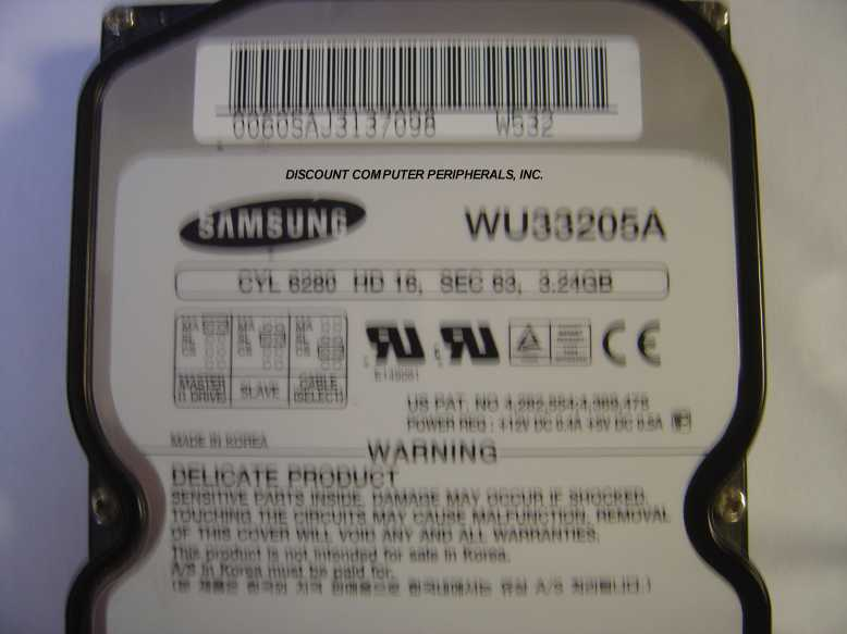Samsung WU33205A