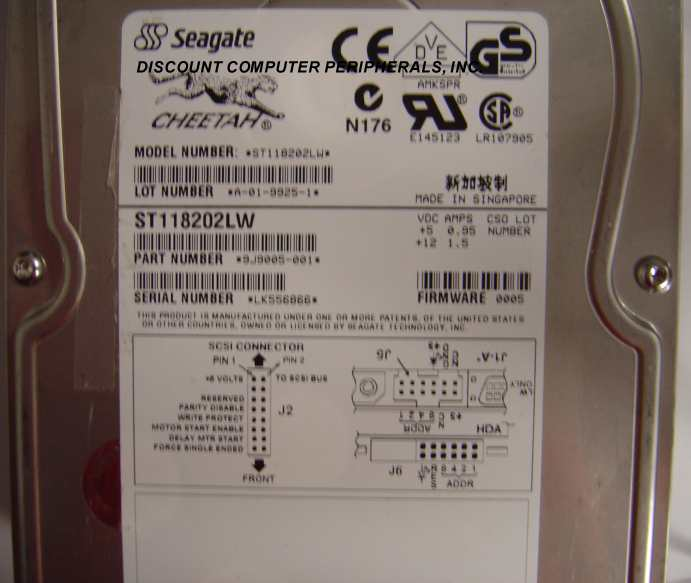 Seagate ST118202LW