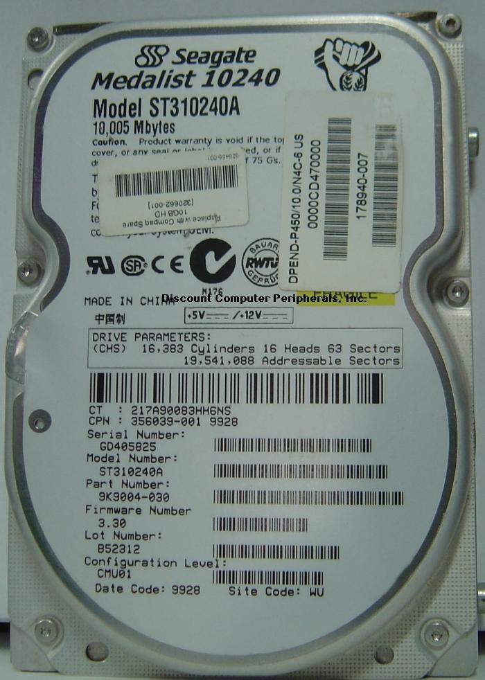 Seagate ST310240A