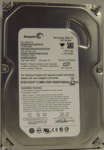 Seagate ST3160815AS