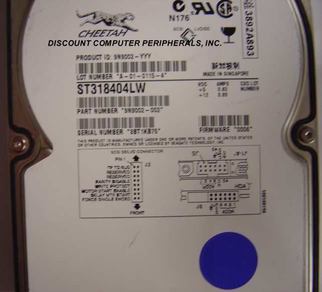 Seagate ST318404LW