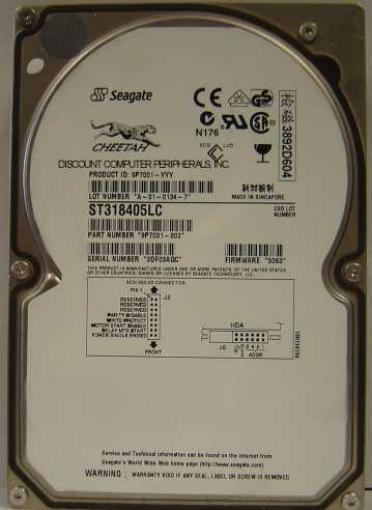 Seagate ST318405LC