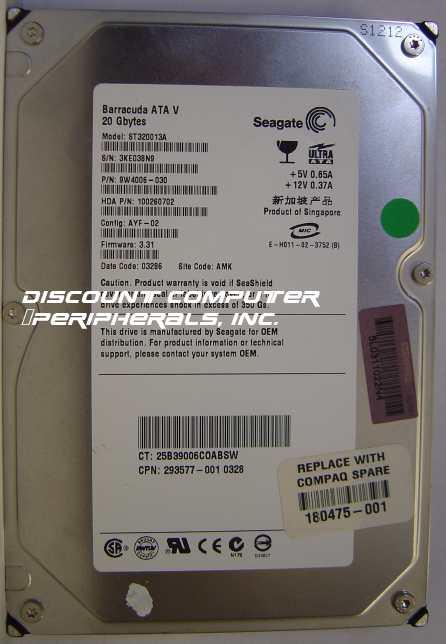 Seagate ST320013A