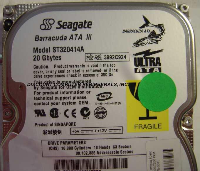 Seagate ST320414A