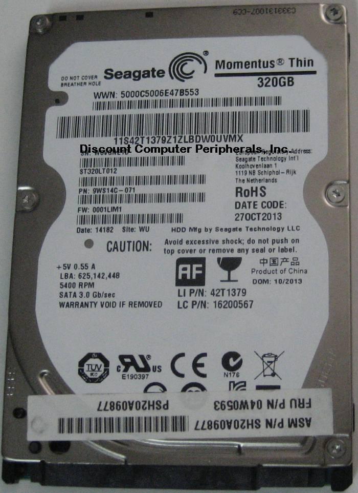 Seagate ST320LT012