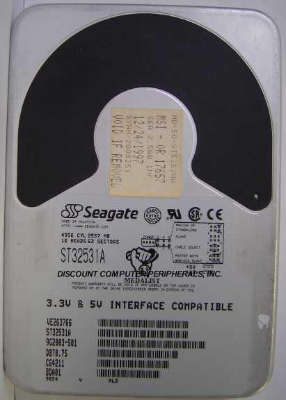 Seagate ST32531A