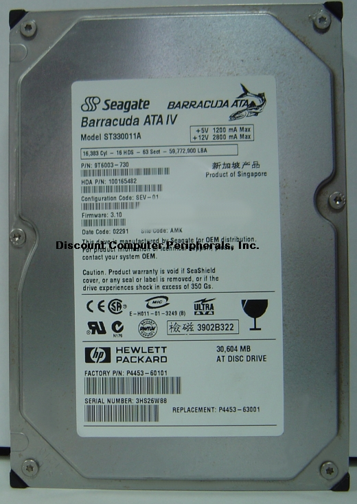 Seagate ST330011A