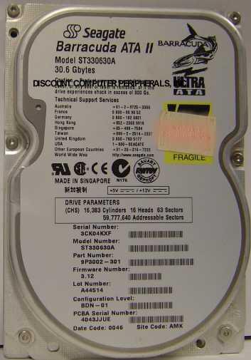 Seagate ST330630A