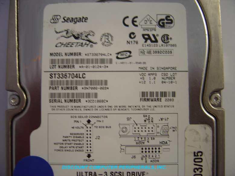 Seagate ST336704LC